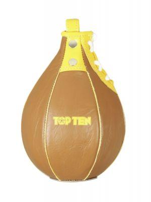 päärynäpallo Top Ten retro ruskea/keltainen
