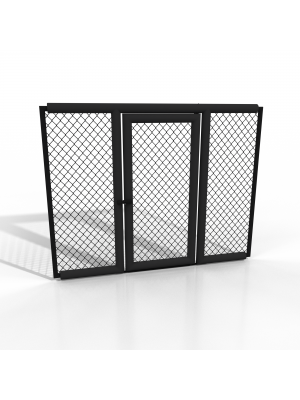 Dojo Cage door panel