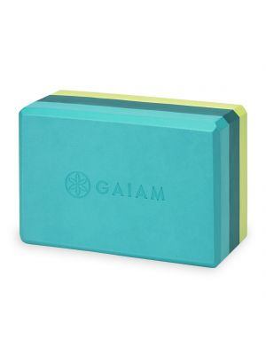 Gaiam Teal Tonal Tri-color joogatiili