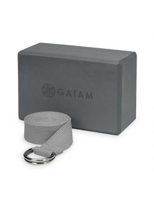 Gaiam Block-Strap Combo