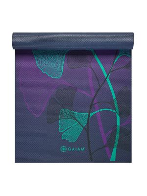 Gaiam Lily Shadows Premium  Yoga Mat