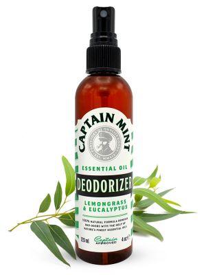 Captain Mint Essential Oil Deodorizer puhdistus agentti - eukalyptus ja sitruunaruoho