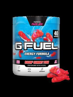 G Fuel Energy energiajuoma - Ragin´ Gummy Fish Tub
