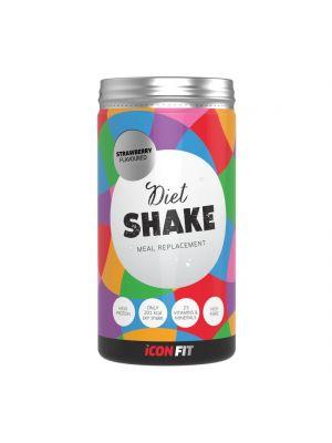 Iconfit Diet Shake dieetticocktaili - Mansikka 715g