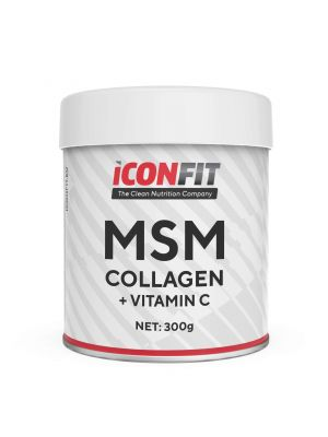 Iconfit MSM Collagen + Vitamin C 300g Maustamaton