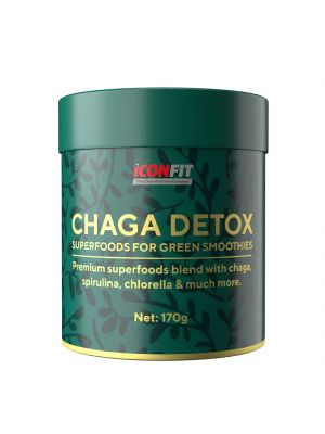 Iconfit Chaga Detox - smoothieisiin 170g
