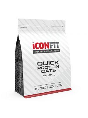 Iconfit Quick Protein Oats -puuro 1kg Omena-kaneli