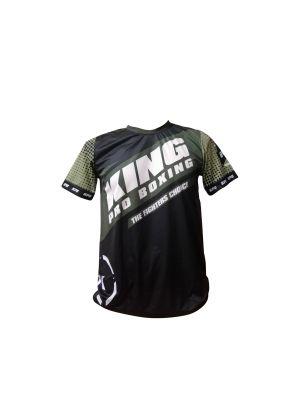King Pro Vintage Kaki T-paita