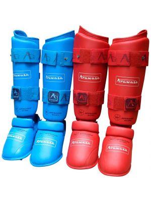 Arawaza WKF karate säärisuojat
