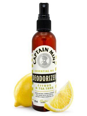 Captain Mint Essential Oil Deodorizer puhdistus agentti - sitruuna & rosmariini