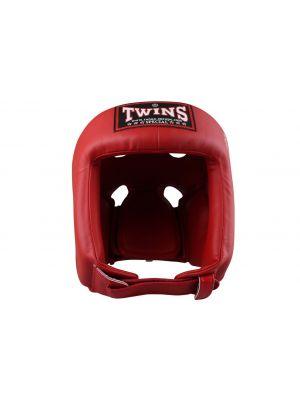Twins Competition Leather nyrkkeilykypärä