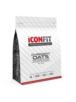 Iconfit Overnight Oats -puuro 700g Suklaa-maapähkinä